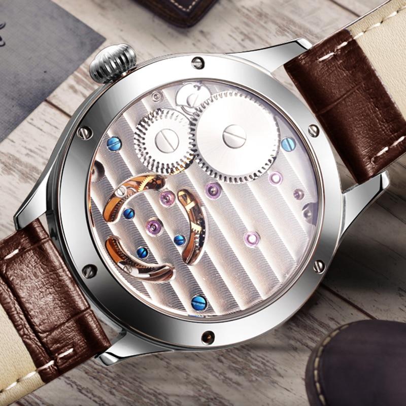 Original Tourbillon watch GUANQIN 2019 NEW clock men waterproof mechanical Sapphire leather top brand luxury Relogio Masculino 4