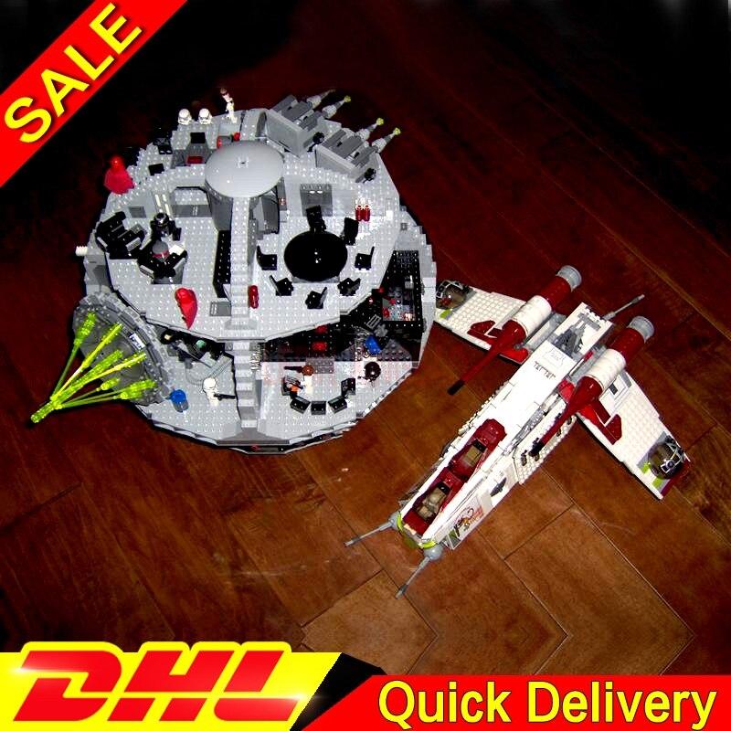 LP 05041 War UCS The Republic Gunship LP 05035 Death Star Wars Building Block Set Bricks Leleings Toys 75021 10188