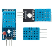 Sensor Digital de temperatura y humedad DHT11, 100 Uds.