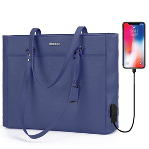 OSOCE laptop bag for women 15.6 '' briefcase Waterproof Handbag Laptop Tote Case luxury Shoulder Bag Office Bags for notebook(China)