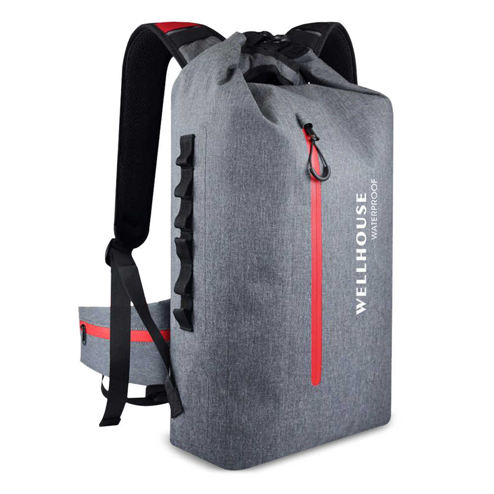 Outdoor Backpack Waterproof Dry Bag Pack Sack Outdoor Waterproof Dry Backpack Bag for Camping Hiking Traveling Trekking Bag