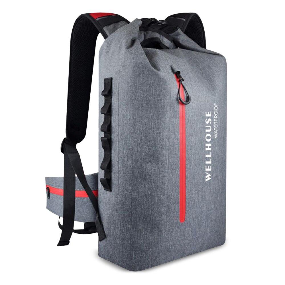 Outdoor Backpack Waterproof Dry Bag Pack Sack Outdoor Waterproof Dry Backpack Bag For Camping Hiking Traveling Trekking Bag