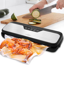 Food-Vacuum-Sealer-Machine Bags White Dolphin Electric Home 110V 220V for with 10PCS