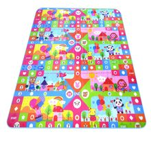 купить Baby Crawling Mat Sided Pattern Animal ocean 2*1.8m Baby Play Mat Baby Carpet Soft Floor Kids Baby Playmat Outdoor Carpet Child по цене 1146.31 рублей