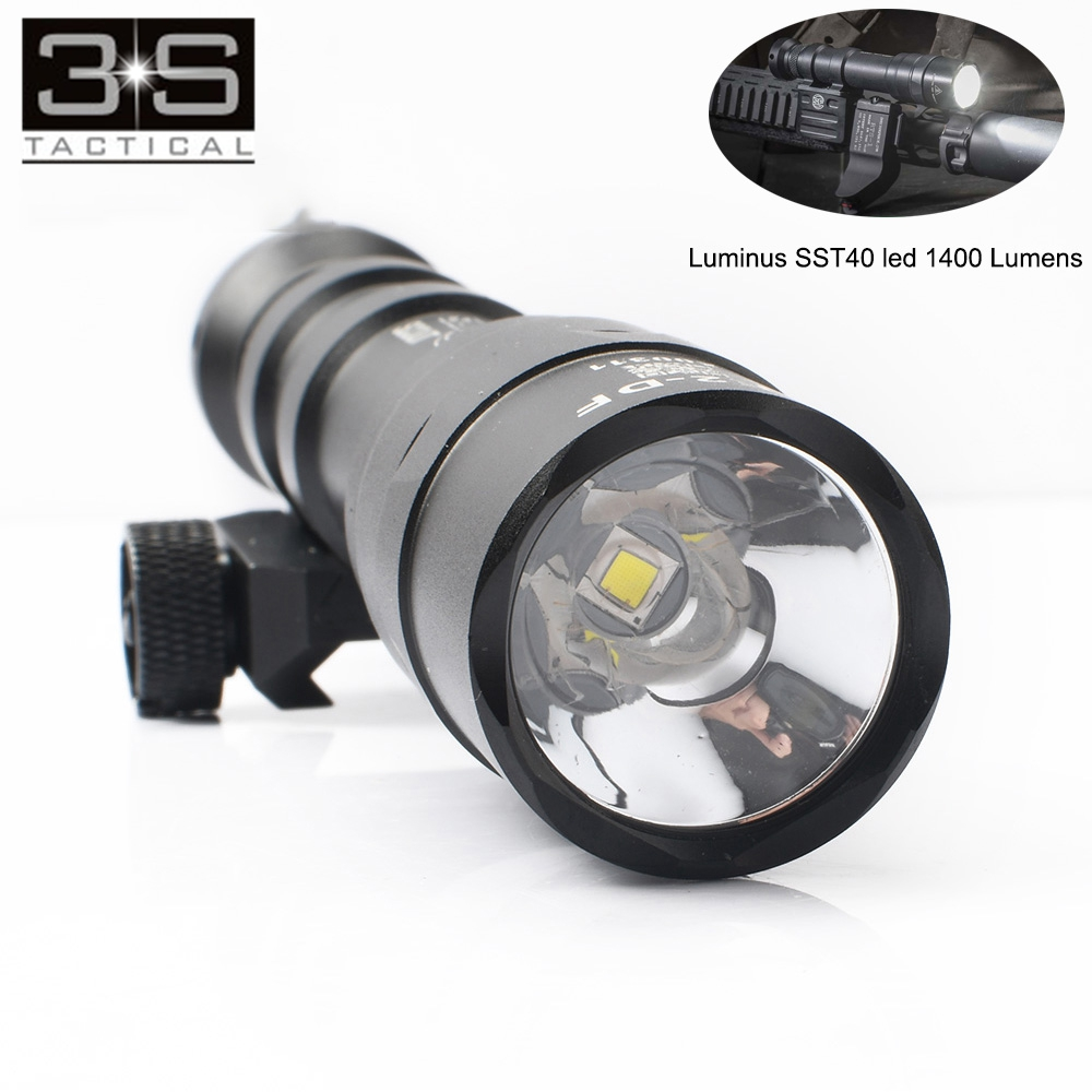 1400lumes surefir m600df duplo combustível scout luz