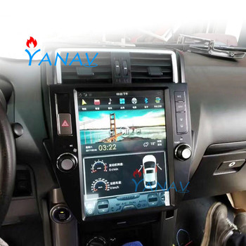 Tesla Style CAR Multimedia Player FOR-TOYOTA Land Cruiser Prado 2010-2013 Car Stereo car radio player Android Car GPS Navigation 9ips android 8 1 car radio stereo head unit for toyota land cruiser prado 120 lexus gx470 2004 2009 no cd player buit in dsp