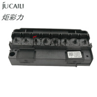 Jucaili 1 pc original DX5 printhead cover for Eco solvent printer DX5 solvent adapter F186000 DX5 printhead holder