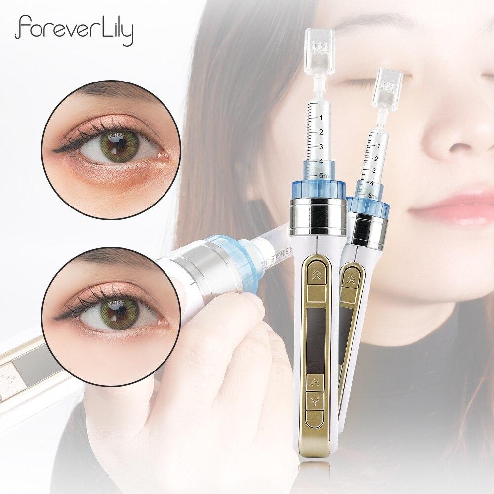 3D Smart Wasser Injection Stift Mesotherapie Meso Injektor Pistole Gesichts Haut Verjüngung Feuchtigkeit Falten Beutel Entfernung Schönheit Salon
