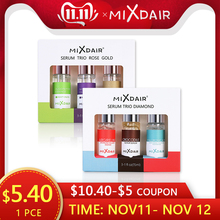 MIXDAIR 3pcs/set Face Serum Essence Moisturizing Whitening Base Primer Facial Repair Serum Anti-aging Treatment Skin Care