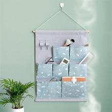 New Warm Sunset Hanging Bag Household Closet Organizer Sundries Storage Bags Multifunction Underwear Make up