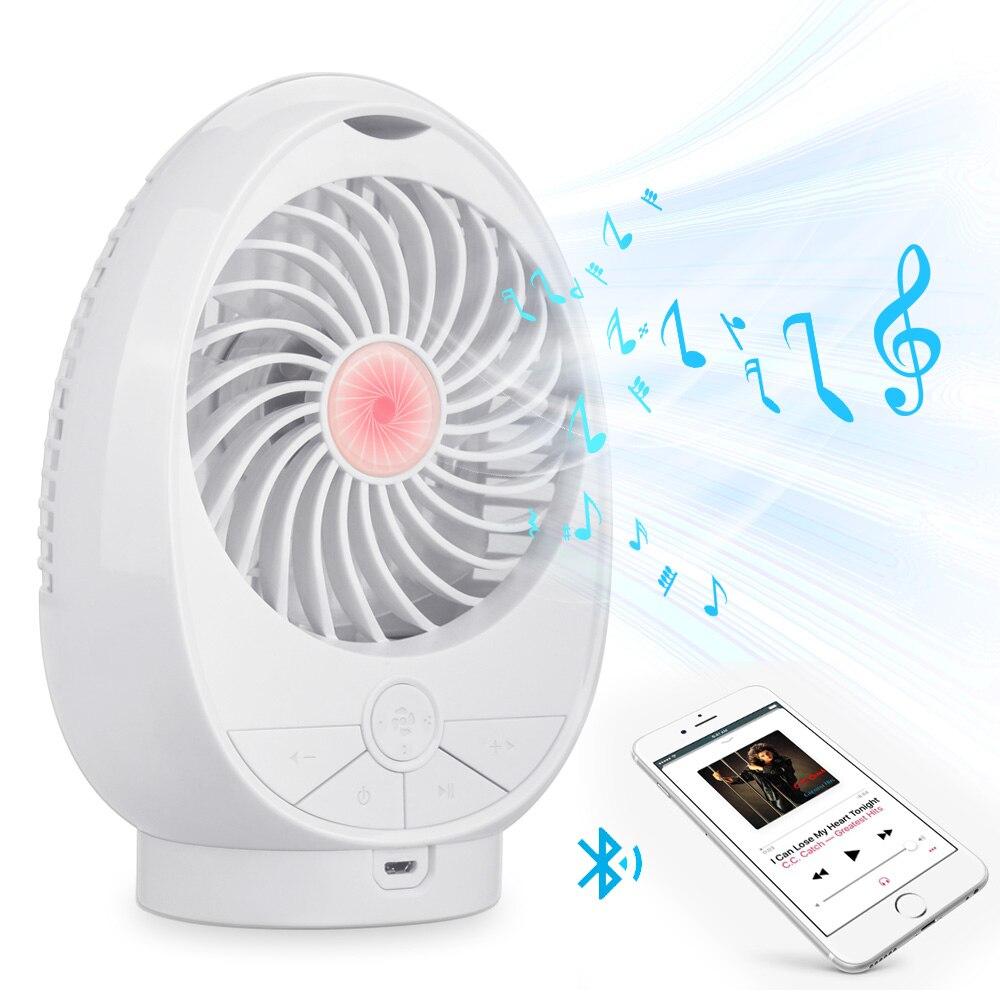 Ventilador portátil+Altavoz conexión Bluetooth por 12 euros (-25% desc.)