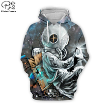 PLstar Cosmos astronaut space cosmonaut 3D Printed Hoodie/Sweatshirt/Jacket/shirts Mens Womens hip hop coolguys funny style-2