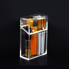 Fashion Acrylic Cigarette Case Transparent Gadgets For Men T