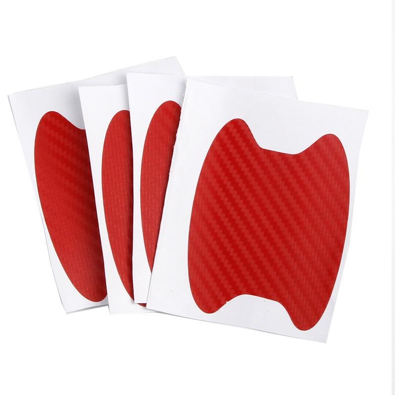 Купить 4 шт защитные наклейки на дверные ручки автомобиля