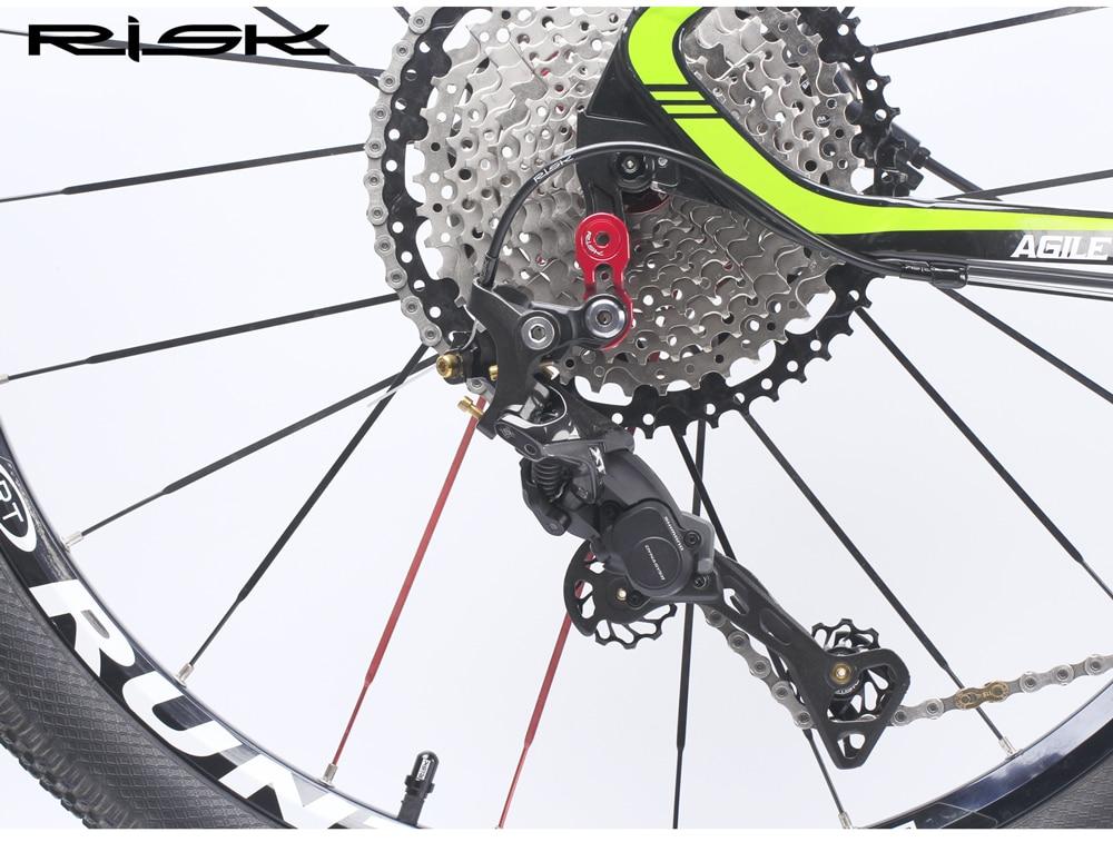 Bike Rear Derailleur Hanger Extender Gear Tail Hook Cassette Adapter Hot
