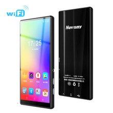 5.0 polegada wifi mp3 player android, mp4, bluetooth 5.0, mp5 tela de toque completa 8gb, e-book, hifi, vídeo sem fio jogadores de música