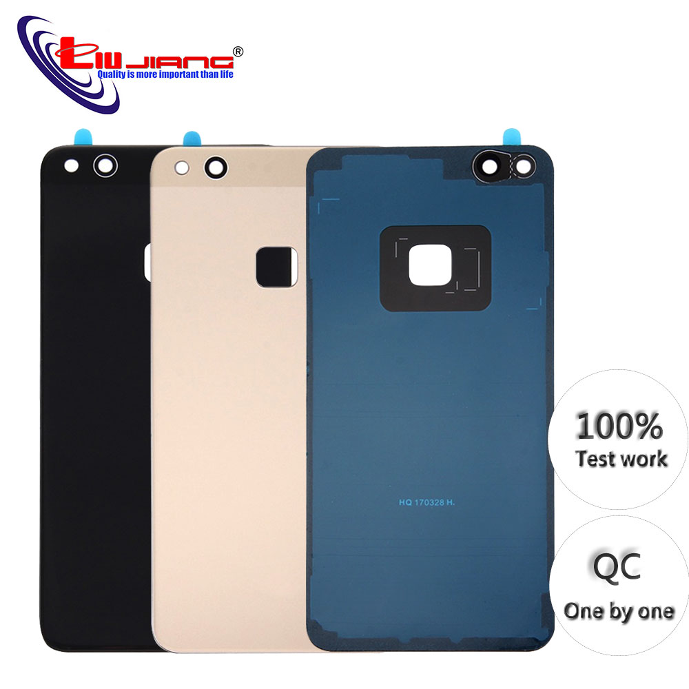 New high quality <font><b>Battery</b></font> Back <font><b>Cover</b></font> For <font><b>Huawei</b></font> <font><b>P10</b></font> Lite For Nova Lite <font><b>Battery</b></font> Glass <font><b>Cover</b></font> Replcement Rear Housing Chassis Case image