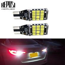 цена на 2Pcs T15 W16W 921 912 LED CANBUS No Error Car Backup Reverse Light Bulb Tail Parking Lamp 12V White 4014 SMD