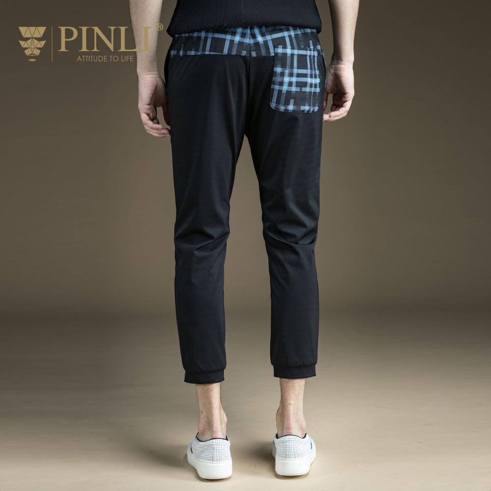 จัดส่งฟรีชายเสื้อผ้าฤดูร้อนใหม่ Slim สบายๆข้อเท้าความยาวกางเกงกางเกง B172217176-ใน กางเกงสกินนี่ จาก เสื้อผ้าผู้ชาย บน   2