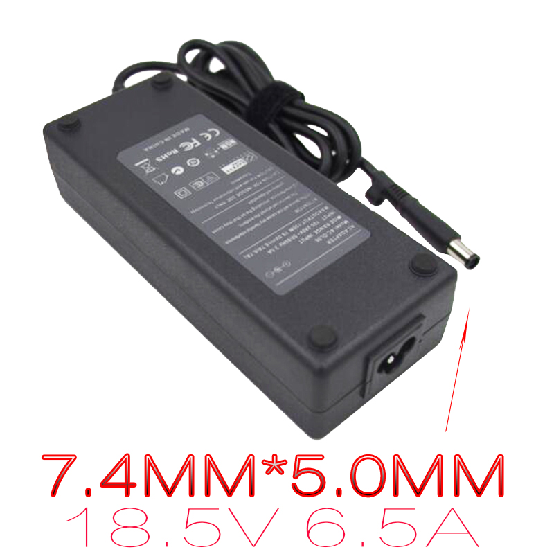 18.5V 6.5A Laptop power Supply For HP 8710P 6930P MS200 Adapter DV7 8530P 8530W NX6330 Laptop Charger G42 G60 G70 G72 Laptop AC
