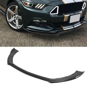 Front Bumper Lower Splitter Spoiler Diffusers 3-Stage Front Shovel Lip Protector Fits for Ford Mustang 2015 2016 2017 2018
