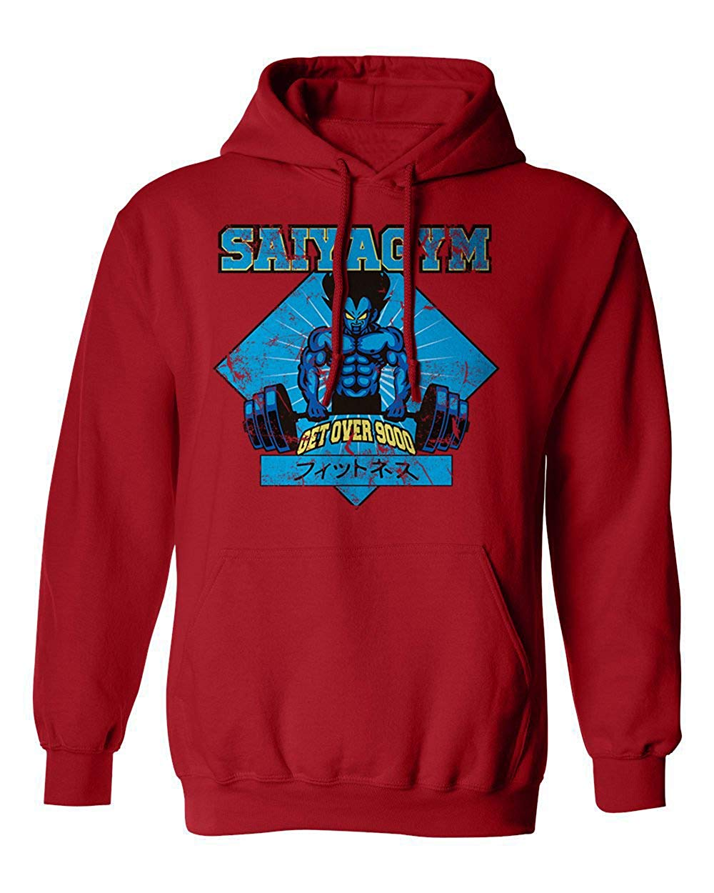 New Graphic Shirt Saiya Gym Novelty Tee Dragon Men's Hoodie Hooded Sweatshirt Men Women Hoodie Sweatshirt