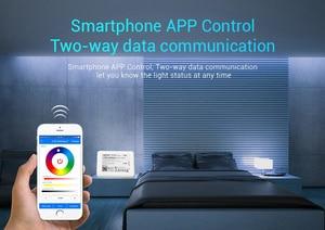 Image 3 - Milight WL Box1 wifi ibox (iBox2 משודרג גרסה) 2.4GHZ אלחוטי דימר wifi led הנורה בקר חכם אור rgb IOS Andriod APP