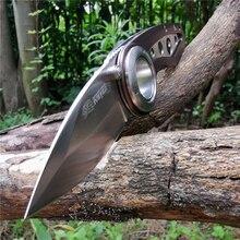 Faca de lâmina dobrável lâmina de alta dureza facas de aço inoxidável bom para a caça acampamento sobrevivência ao ar livre e transportar todos os dias