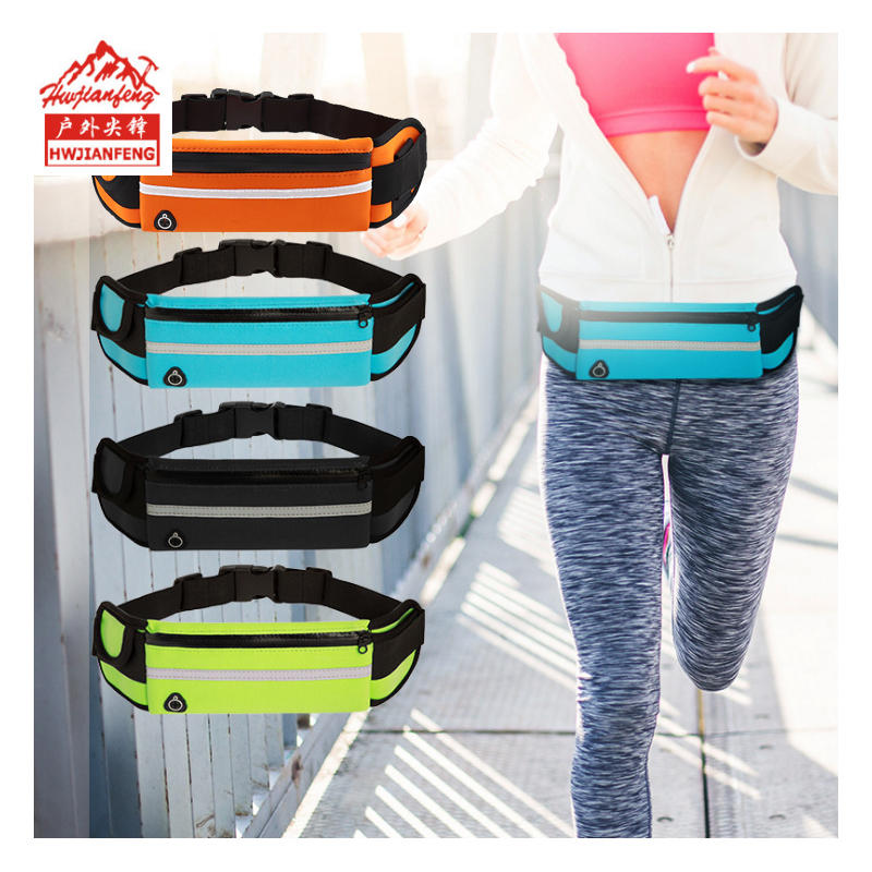 Women Waist-Pack Running Funny-Pockets Bottle Holder Belt-Pouch Cycling Kidney Waterproof Sport Unisex Bum Bags Sac Banane