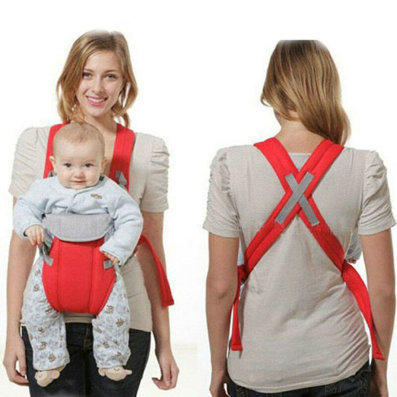 Adjustable Infant Baby Carrier Wrap Sling Newborn Backpack Breathable Ergonomic Multifunction Outdoor Kangaroo