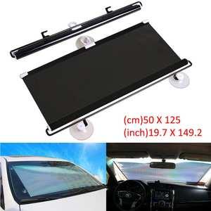 Curtain-Protection Sunshade Windshield Sun-Block Retractable Foldable Rear-Window Auto