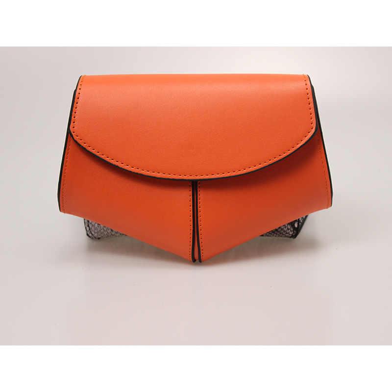 2020 Mới Hông Nữ Nữ Dây Lưng Túi Rắn Hông Túi Trang Bum Túi Đựng Điện Thoại Da Có Packss LW0808