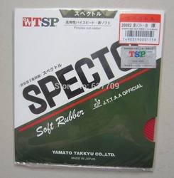 Original TSP Spectol Soft T-20082 raw rubber table tennis rubber table tennis rackets racquet sports wangtao fast and spin