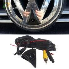 For Volkswagen VW Tiguan Touran Touareg Golf Jetta Passat Polo Vento Bora HD Waterproof Car Front View Blind Area Camera