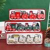 Little Train Wooden Christmas Decorations for Home Xmas Decor Christmas 2020 New Year 2021 Christmas Ornaments Christmas Noel