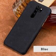Genuine Leather phone case for Xiaomi redmi note 8 pro 7 6a 7a k20 movil fundas cover For mi 9t 9 se lite