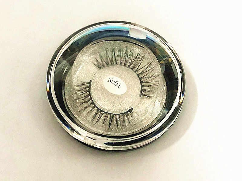 3 Pairs New Luxury overlength 3D Mink Eyelashes  False Lashes Fluffy Strip Eyelashes Long Natural Party Lashes