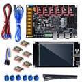 BIGTREETECH SKR PRO V1.1 avec écran tactile TFT35 V2.0 TMC2208 UART TMC2209 TMC2130 Driver 6 pièces Kit de carte d'imprimante 3D VS SKR V1.3