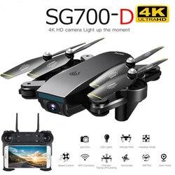 Drone Sg700d 4k Drone Hd podwójny aparat Wifi transmisja Fpv optyczny przepływ stabilna wysokość zdalnie sterowany Quadcopter Dron z kamerą Dron