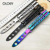Folding Knife Butterfly Gift Game Knife for Party Dull Blade No Edge Tool Practice Butterfly In Knife NEW Toy Personalized Gift