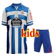 2020 para niños Kits Deportivo De La Coruña camisas casuales 2020 2021 Bebeto De Futbol De ocio Casual mejor camisetas De calidad