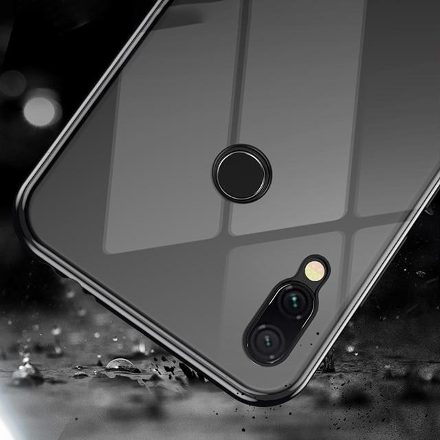 Magnetic Metal Case For Xiaomi Mi 9 SE 8 lite F1 9T CC9 A3 9SE Cover For Redmi Note 8 7 6 10 Pro 7A 8A K20 Glass Protective Case