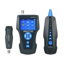 NF 8601S çok fonksiyonlu ağ kablo test cihazı LCD kablo uzunluğu ölçer kırılma noktası test cihazı RJ45 telefon hattı denetleyicisi