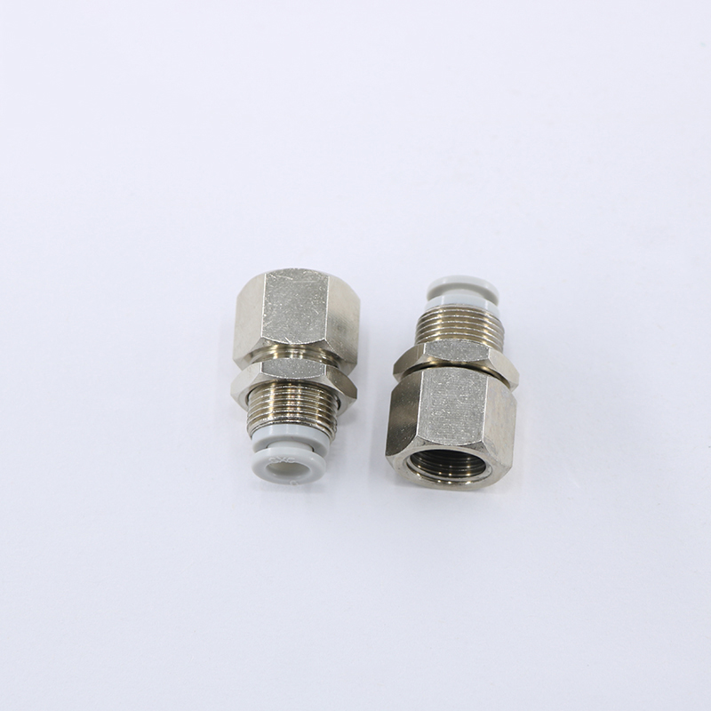 1pcs KQ2E type  fittings brass connector Pneumatic Components pipe fitting