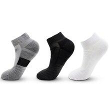 Chaussettes de sport thermiques pour hommes, 1 paire, en coton, pour faire du plein air, du cyclisme, du Basket ball, de la randonnée, du Tennis, antidérapantes