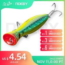 דיג NOEBY הפיתוי פופר טונה ים פיתוי 120mm/160mm Topwater קשה פיתיון Iscas Artificiais Leurre דה פש wobbler קרס דיג