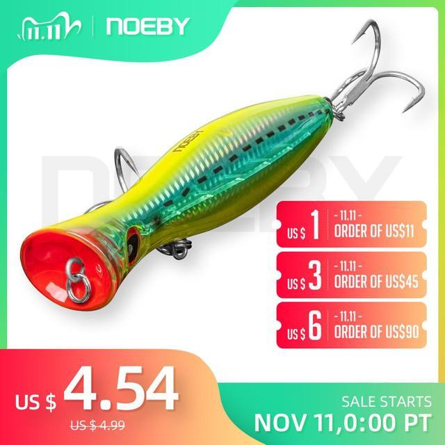 NOEBY señuelo para pesca artificial, señuelo De atún De 120mm/160mm