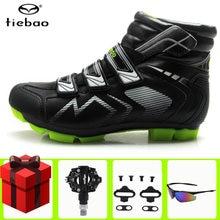 Tiebao зимняя обувь для велоспорта sapatilha ciclismo mtb добавить