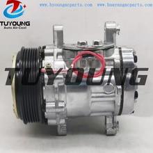 Sanden 7176 SD7B10 Car Air Conditioner Compressor For VW Polo  Rover 218TD Universal 122mm 6PK 12V