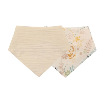 1 Pc Baby Bibs Cotton Accessories Newborn Solid Color Snap Button Soft Triangle Towel Feeding Drool Bibs - S012